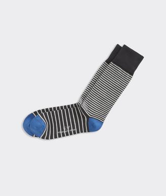 Vineyard Vines Thick & Thin Stripe Socks