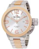 TW Steel Canteen CB125 Stainless Steel & Rose Gold Plated 45mm Mens Watch
