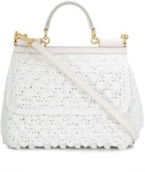 Dolce & Gabbana Crocheted Medium Sicily bag