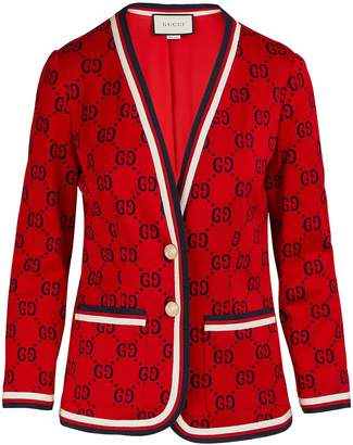 Gucci GG patterned blazer