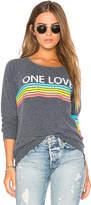 Chaser One Love Rainbow Sweatshirt