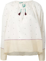 Mes Demoiselles Orpheo embroidered blouse - women - Cotton - 1