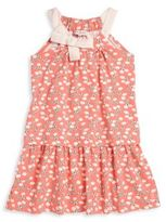 Lili Gaufrette Toddler's & Little Girl's Libbie Umbrella-Print Drop-Waist Dress