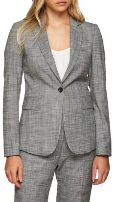Oxford Alexa Eco Checked Suit Jacket