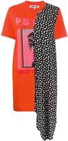 McQ asymmetric T-shirt dress