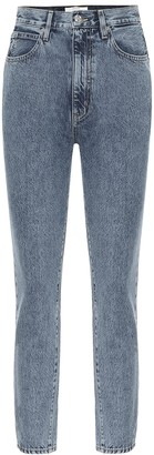 SLVRLAKE Beatnik high-rise slim ankle jeans