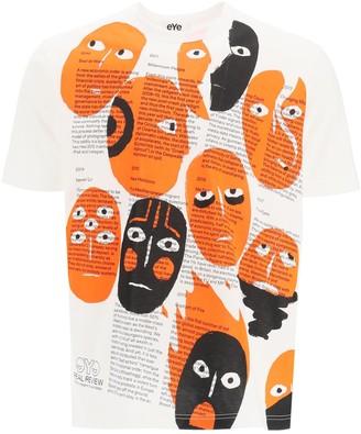 Junya Watanabe Allover Face Print T-Shirt