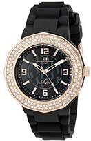 Oceanaut Women's OC0222 Aqua Analog Display Quartz Black Watch