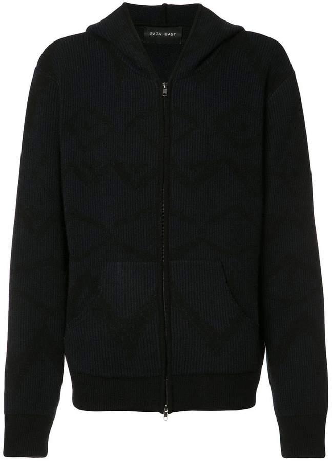 Baja East zipped hoodie