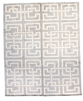 F.J. Kashanian Pristine Hand-Knotted Wool Rug