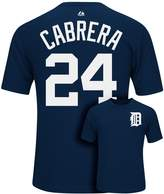 Majestic Men's Detroit Tigers Miguel Cabrera Player Name and Number Synthetic Tee