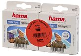 Hama photo tapes (1,000 pieces, self-adhesive on both sides, dispenser box, acid-free, solvent-free, suitable for albums)