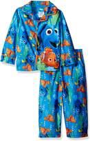 Disney Little Boys' Toddler Finding Dory 2-Piece Pajama Coat Set