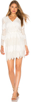 WAYF White Shores Wrap Dress