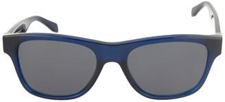 Alexander McQueen 52mm Acetate Frame Square Sunglasses