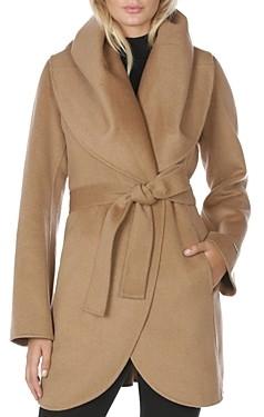 T Tahari Marilyn Belted Coat