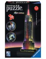 Fashion World Empire State Building Night 3D Puzzle