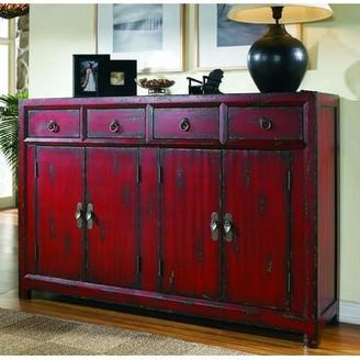 "Hooker Furniture Seven Seas 58.25"" Wide 4 Drawer Sideboard"