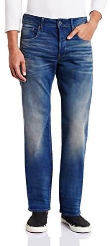 G Star G-Star Men's Revend Straight Jeans, Blue (Medium Aged), W35/L30