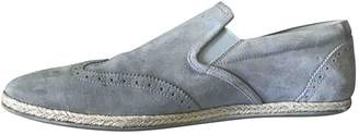 Louis Vuitton Grey Suede Espadrilles