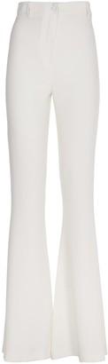 Hebe Studio White Flair Trousers
