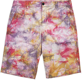 Aries Tie Dye Chino Shorts
