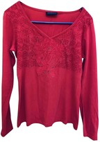 Trussardi Pink Cotton Top for Women