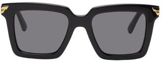 Bottega Veneta Black Square Sunglasses