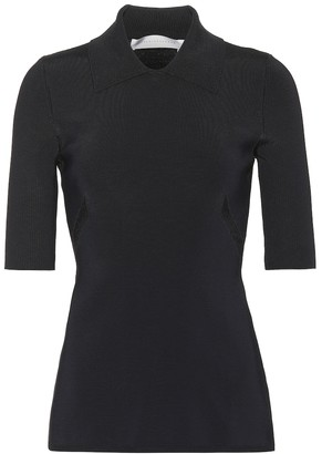 Victoria Beckham Stretch mesh top