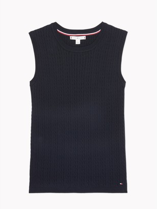 Tommy Hilfiger Essential Cable Shell Sweater