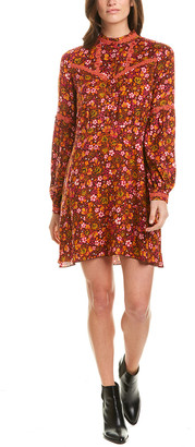 Anna Sui Begonia Blend Shift Dress