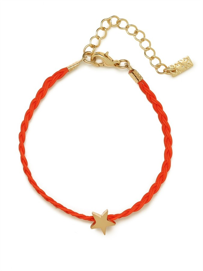 BaubleBar Red Star Braid Bracelet