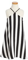 Milly Minis Girl's Stripe Swing Dress
