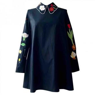 VIVETTA Black Cotton Dresses
