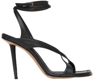 Burberry Leather Wrap-Around Sandals 100