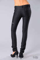 Ksubi Super Skinny Zip Jeans in Grease