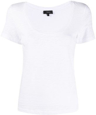 Theory scoop neck T-shirt