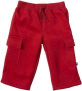 Kickee Pants Cargo Sweatpants (Baby) - Brick-6-12 Months