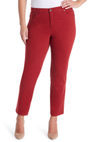 Gloria Vanderbilt Red Amanda Jeans - Plus