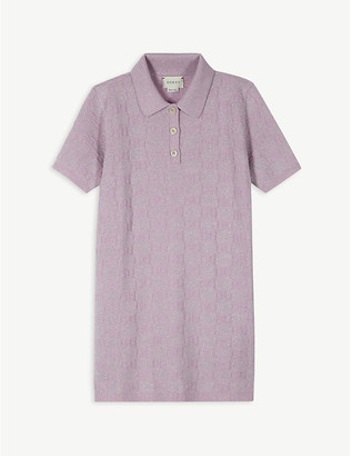 Gucci Lurex polo dress 4-12 years