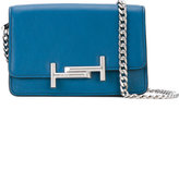 Tod's Double T crossbody bag - women - Leather - One Size