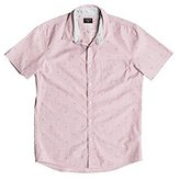 Quiksilver Men's New Everyday Mini Motif Short Sleeve Shirt