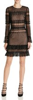Parker Nadia Illusion Lace Dress