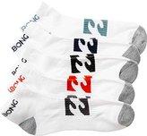 Billabong Men's Ankle Sock 5 Pack
