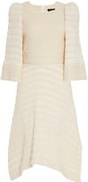 Isabel Marant Gabriel Asymmetrical Crew Neck Dress