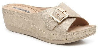 GC Shoes Justina Wedge Sandal