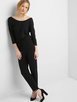 Gap Soft half-sleeve jumpsuit