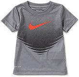 Nike Little Boys 2T-7 Swoosh Ripple Short-Sleeve Tee
