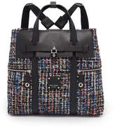 Henri Bendel Jetsetter Convertible Tweed Backpack