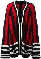 Haider Ackermann oversized open cardigan